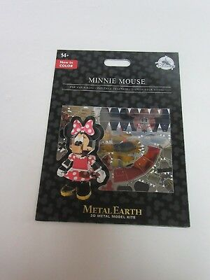 Disney Parks Metal Earth 3D Model Kit New in Color Minnie Mouse new