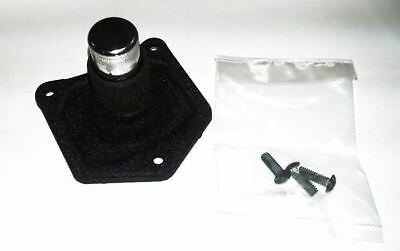Black Solenoid Cover Starter Push Button for Harley