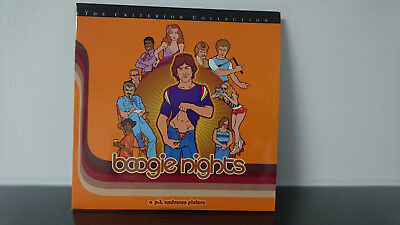 The Criterion Collection boogie nights Laserdisc Edition