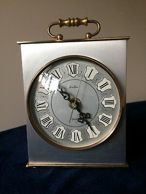 Quartz Carriage Clock By Bentima.