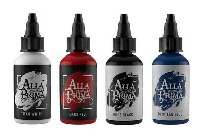 Alla Prima Tattoo Ink — 1oz Bottle — Pick Your Color