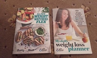 daily mail weightwatchers flex 2 booklets/leaflets