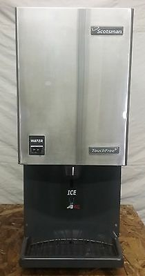 Nice Used  Scotsman Mdt4F12A-1H Touchfree Flake Ice Machine/dispenser