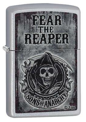 Zippo Sons of Anarchy Fear the Reaper Satin Chrome 28502