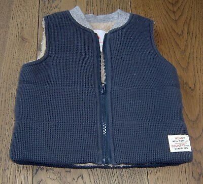 Country Road Baby Boys  Puffer Vest Sz 00