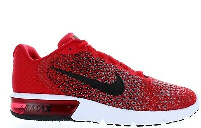 online retailer 0fdc5 72ff1 Men s Nike Air Max Sequent 2 852461 600 University Red black-Black Ds Brand