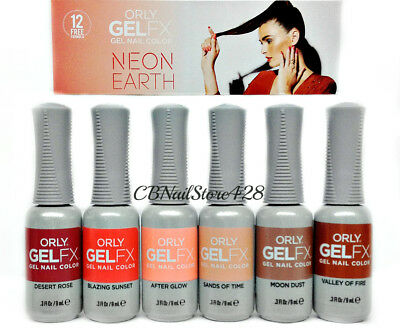 Orly GelFX GEL NAIL POLISH - NEON EARTH Collection - Choose Any Color 0.3oz/9mL