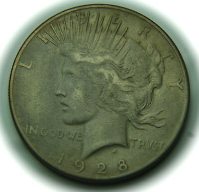 1928 Peace Silver Dollar - $1 - No Reserve!