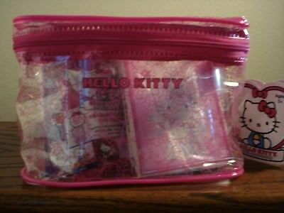 NEW! Hello Kitty 40th Anniversary Carry All Case 20 items with Figures