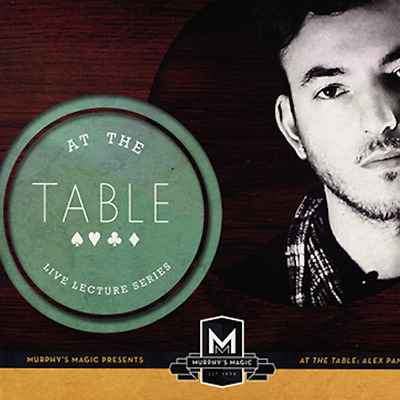At the Table Live Lecture Alex Pandrea ships from Murphy's Magic