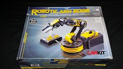 New OWIkit Robotic Arm Edge - Wired control robotic arm kit w/led light