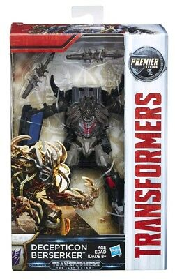Transformers: The Last Knight Premier Edition Decepticon Berserker
