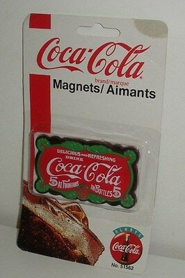 Coca Cola ,Vintage Sign, Refrigerator Magnet (Dated1995)