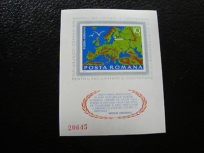 romania - stamp yvert and tellier bloc n° 121a n (Z9) stamp romania
