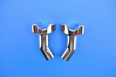 Chrome Drag Specialties 0602-0399 Forged Aluminum Straight Riser 3.5in