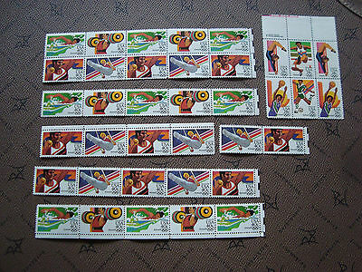 united STATES - 37 stamps 1983 (jo) (majority n ) (Z5) united state