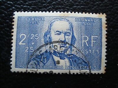 FRANCE - stamp yvert and tellier n° 439 obl (stain rust (L1) stamp french