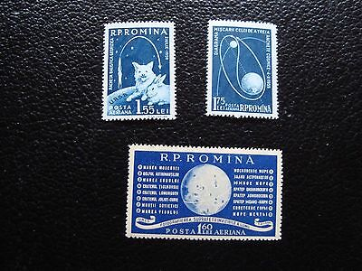 romania - stamp yvert and tellier air n° 104 a 106 n (C5)stamp romania (Z