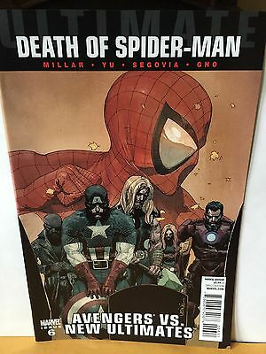 Ultimate Death of Spider-man #6  Marvel NM Avengers vs New Ultimates