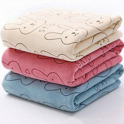 Baby Infant Newborn Rabbit Cartoon Soft Bath Feeding Towel Washcloth Witty