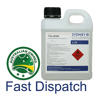 Toluene Paint Thinner Cleaner 1 Litre