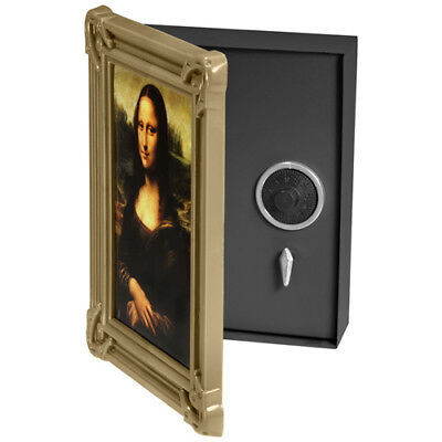 BARSKA Hidden Wall Mount Picture Frame Safe w/ Combination Lock, CB11800