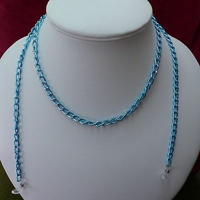 spectacle glasses sunglasses cord chain blue