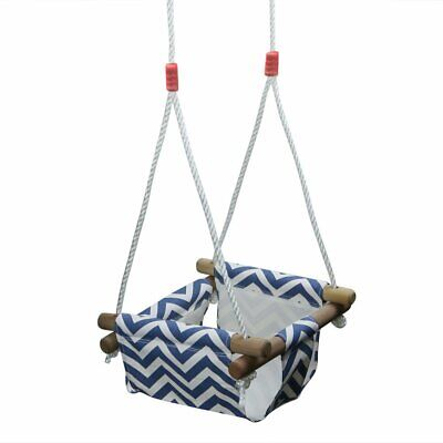 Baby Toddler Canvas Swing Seat Hammock Chair Small Swing Hanging Cradle Trapeze
