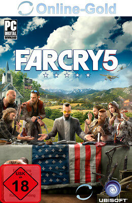 Far Cry 5 Standard Edition - PC Uplay Spiel Digital Download Code - [EU Region]