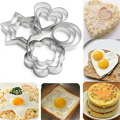 12X Stainless Steel Cookie Fondant Cake Biscuit Mold Mould Sugarcraft Cutter HC