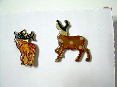 Buck Deer Vintage Pins from the 80's