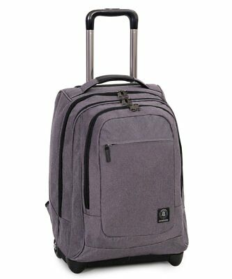 Zaino  Invicta Extra Bump Trolley Business grigio