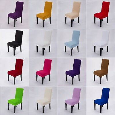 Spandex Stretch Wedding Banquet Chair Cover Decor Dining Room Seat Cover  1pc