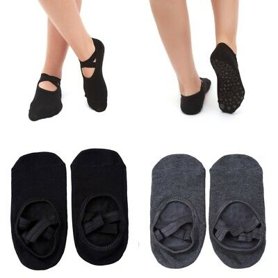 1 Pair Women's Ballet Grip Sock for Barre Yoga Pilates Non-Slip Socks One Size