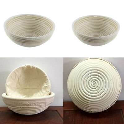 4 Size Round  Dough Rising Rattan Bread-Proofing Basket