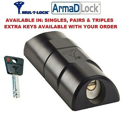 Arma D Lock High Security Vehicle / Van Lock Rear Door / Side Door Armadlock