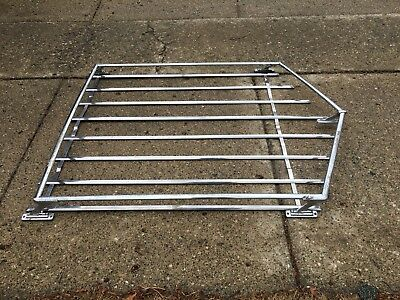 1966 1967 Bel Air  VINTAGE STATION WAGON Chrome ROOF RACK, LUGGAGE RACK Chevy