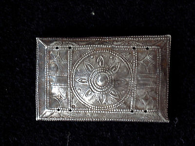 Ethnic Silver Ornament, Black Thai people, Vietnam, Silberschmuck