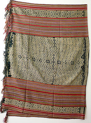 Large men's wrap cloth, selimut, Insana/West Timor, Indonesia, mid 20th century