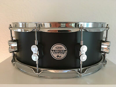 DW PDP Snare Limited Edition 20-ply Birch Shell Black 14 x 5,5