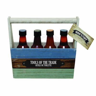 Man'Stuff Tools Of The Trade - Bottles Face Body Wash Hair Man Gift Dad Present