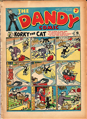 DANDY # 137 comic issue  July 13th 1940