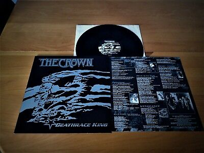 THE CROWN - LP - Deathrace King - At the Gates - Arch Enemy - Entombed - Dio- CD