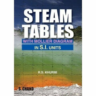 Steam Tables: With Mollier Diagram in S.I.Units R.S. Khurm