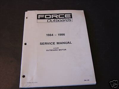 1984 86 force outboard motor 4 hp service manual fandeluxe Choice Image