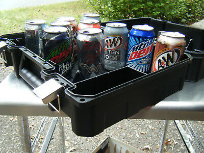 Carrying Case NEW Plastic, Hinged, Lockable for tools, instruments, small parts