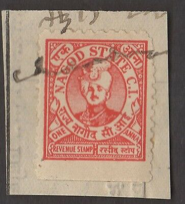 1 NAGOD INDIAN STATE  Stamp (LOT 3)  (C78)