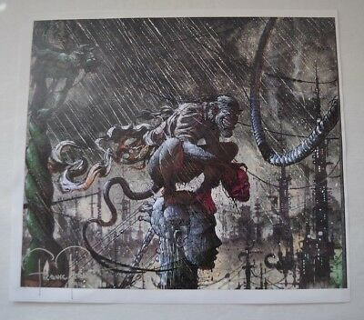 Signed Frank Teran numbered Comic Art #15 of 24