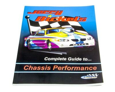 Chassis Engineering 7501 Drag Race Jerry Bickels Chassis Book Repair Manual
