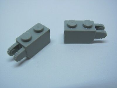 B10 Hinge 1 x 3 Locking with 2 Fingers and Claw End YELLOW x 2 41529 LEGO
